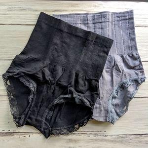 Munafie Slimming Tummy Control Panties 2-Pack